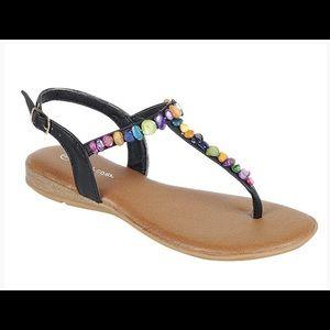 Shoes - 🌿Multicolor Rock Thong Sandal🌿